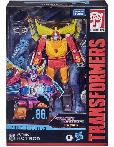 Transformers Hot Rod 17cm - Movie Studio Series 86 - Hasbro
