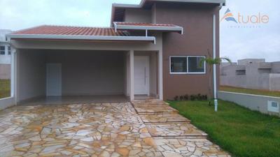 Casa Com 3 Dormitórios À Venda, 164 M² - Condomínio Jardim De Mônaco - Hortolândia/sp - Ca4699