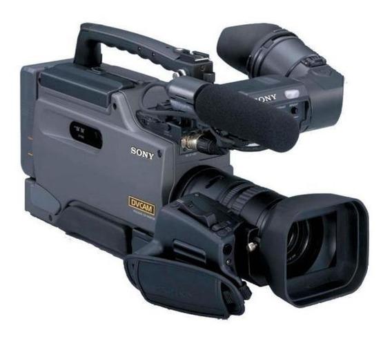 Camcorder Sony Dsr-250/1 Lcd De 2,5 3 Ccd -cinza