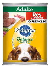 Pedigree Balance Natural Res Y Vegetales Perro Adulto 375gr