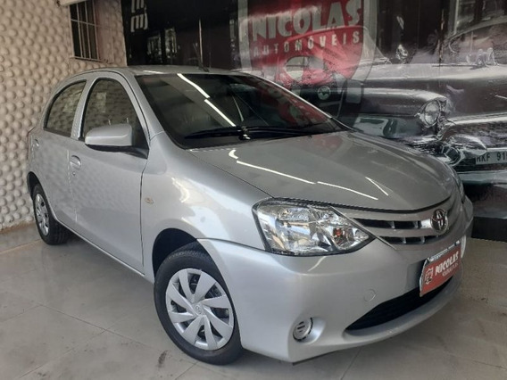 Toyota Etios X 1.3 Manual Prata - 2017