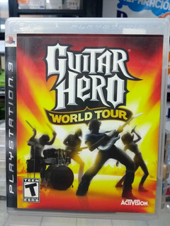 Guitar Hero World Tour Ps3 En Gordito Coleccionables