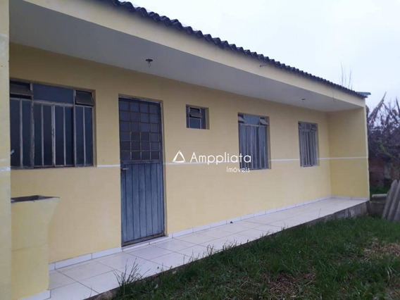Casa Para Alugar, 40 M² Por R$ 700,00/mês - Jardim Eugenia Maria - Campina Grande Do Sul/pr - Ca0269