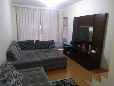 Sobrado Com 3 Dormitórios À Venda, 120 M² Por R$ 415.000 - Vila Antonieta - São Paulo/sp - So0022
