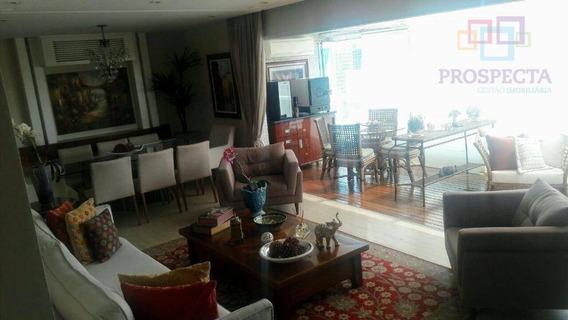 Cobertura Residencial À Venda, Brooklin, São Paulo - Co0034