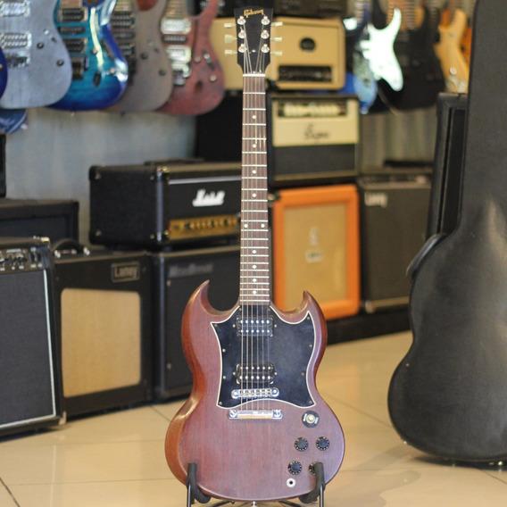Guitarra Gibson Sg Vermelha Ótimo Estado + Nf
