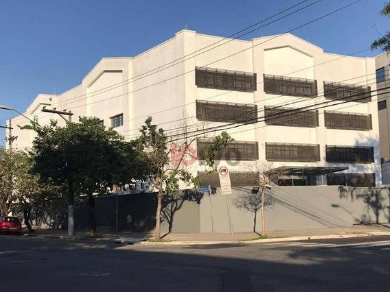 Prédio Para Alugar, 2300 M² Por R$ 80.000,00/mês - Várzea Da Barra Funda - São Paulo/sp - Pr0040