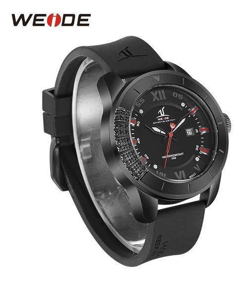 Reloj Exclusivo Marca Weide Uv1603b + Estuche Y Envío Gratis