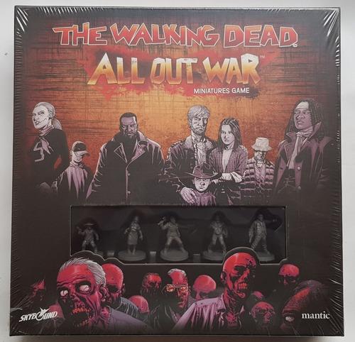 The Walking Dead All Out War Juego De Mesa / Boardgame Nuevo