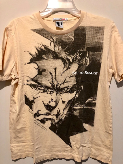 Polera Metal Gear Solid 25th Anniversary Japon