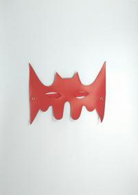 Máscara Morcego Vermelha