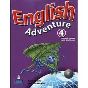 English Adventure 4 - Student Book/ Activity Book With Cd-ro