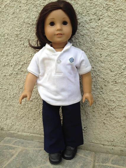 Auténtica Genuina Muñeca American Girl Con Accesorios .47cm