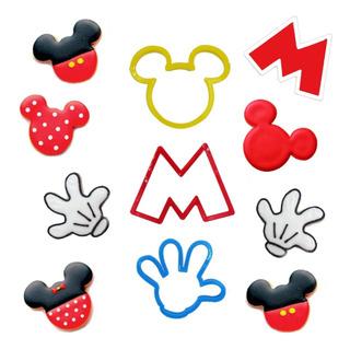 Cortadores Galletas Fondant Mickey Minnie Disney Reposteria