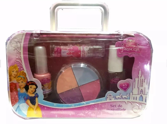 Valija Maquillaje Infantil Disney Princesas Original Nueva