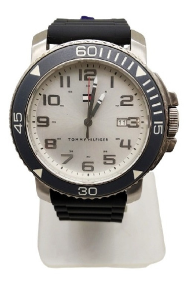Reloj Tommy Hilfiger Silicon Gris Th.179.100.3
