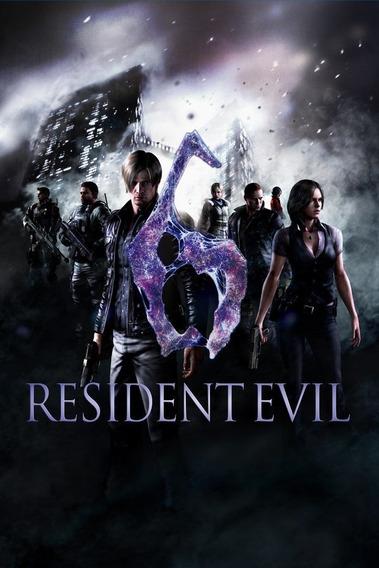 Resident Evil 6 Pc - Steam Key (envio Flash)