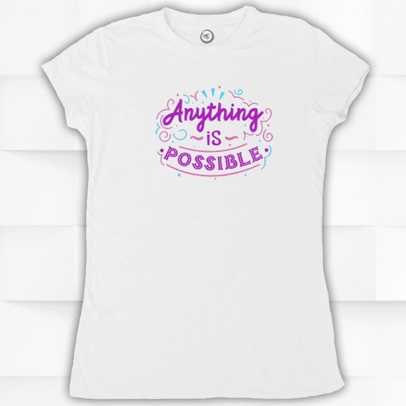 Blusa / Playera Hombre O Pajaro Anything Is Possible #1499