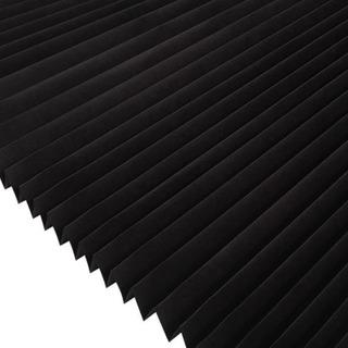 Persiana Plisada Provisional .91 X 1.83 M Papel Negro