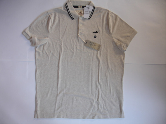 Camisa Polo Hollister Tipped Pique