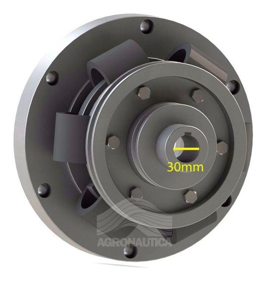 Luva Acoplamento Motor Mwm Até 60cv Com Eixo De 30mm