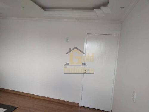 Apartamento Com 2 Dormitórios À Venda, 46 M² Por R$ 170.000 - Campos Elísios - Ribeirão Preto/sp - Ap2836