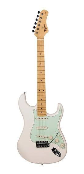 Guitarra Tagima Tg530 Woodstock Branco Vintage + Brinde Frete Gratis!