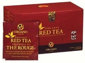 Té Rojo Organo Gold 100% Orgánico Con Ganoderma