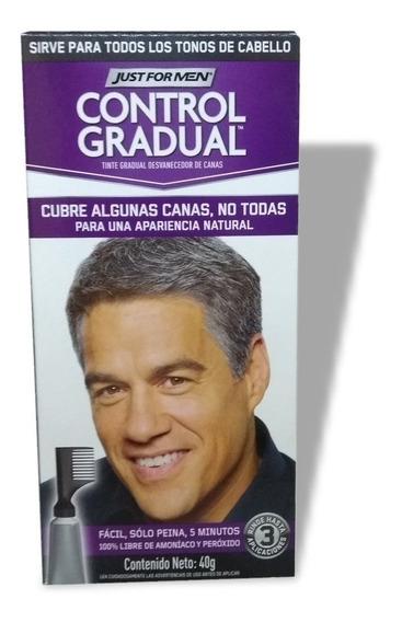 Just For Men Control Tintura Pelo Gradual Gel Cubre Canas