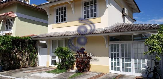 Excelente Casa Triplex, 03 Quartos - Barra Da Tijuca