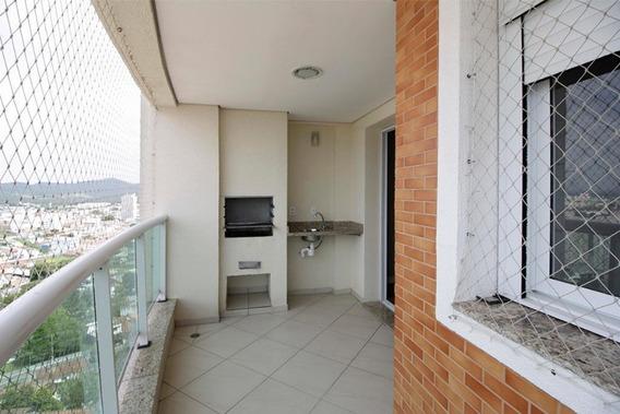 Apartamento Com Varanda Gourmet Com Acabamento Bem Acima Da Média - Ap0045