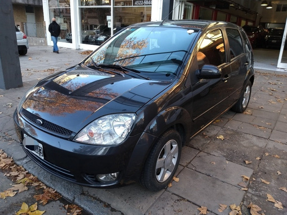 Ford Fiesta Edge Plus 5p Gris 2007 Impecable