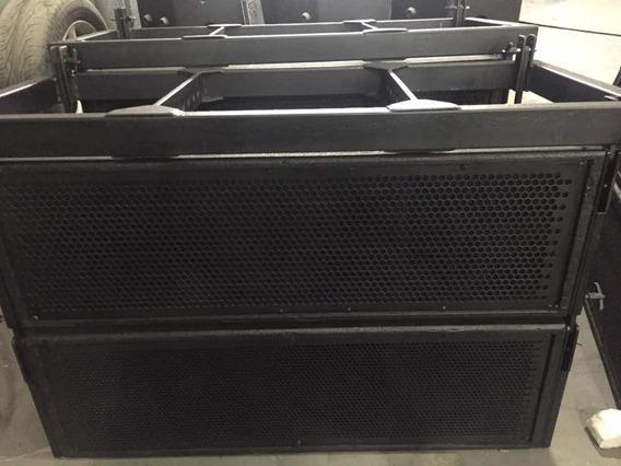 8 Caixas Line Array Duplas Top Nao Machine Ls Audio Fz Jbl