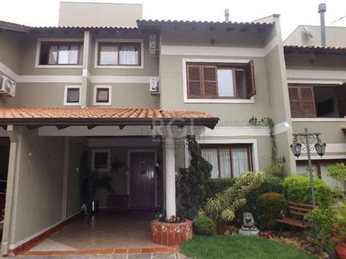 Casa Condominio Em Tristeza Com 3 Dormitórios - Bt10262