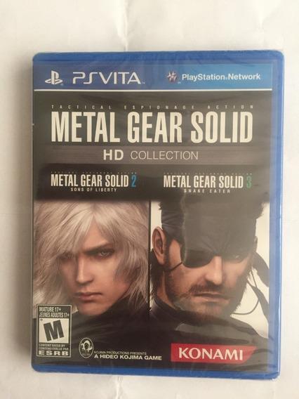Metal Gear Solid Hd Collection Ps Vita Lacrado