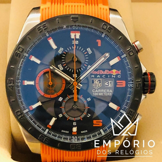 Relógio Tag Heuer Carrera Red Bull
