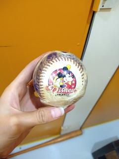 Bola Baseball Mickey Disney Antiga Vintage Colecionável