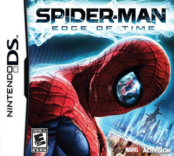 Jogo Spider-man - Edge Of Time (novo) Nintendo 3ds
