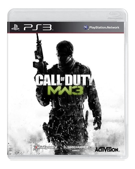 Jogo Call Of Duty Mw3 Modern Warfare 3 - Ps3 - Original