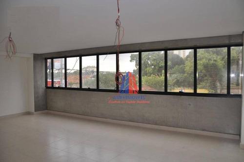 Sala Para Alugar, 45 M² Por R$ 1.300/mês - Edifício Center Offices - Centro - Americana/sp - Sa0114