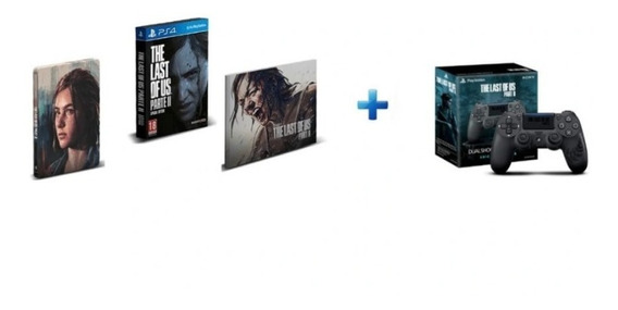 The Last Of Us Part Ii Special Edition + Controle Dualshock4