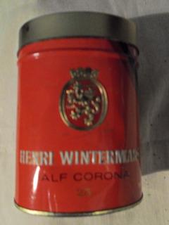 Lata De Cigarros Henri Winterman