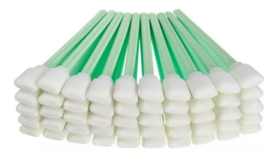 50 Cotonetes Para Limpeza De Plotters