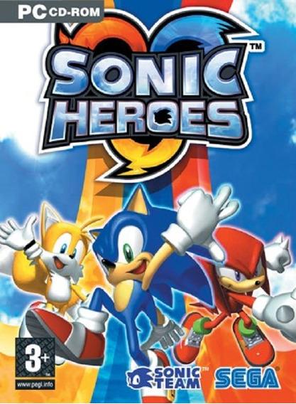 Game Pc Lacrado Original Sonic Heroes