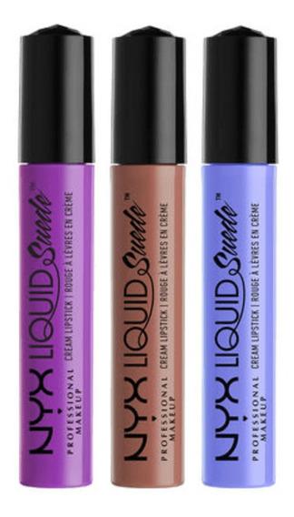 Nyx - Liquid Suede Cream Lipstick Set
