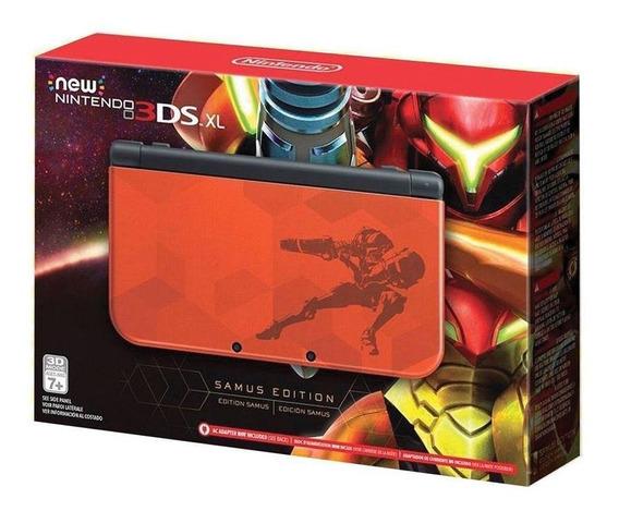 Console New Nintendo 3ds Xl Samus Edition Nintendo