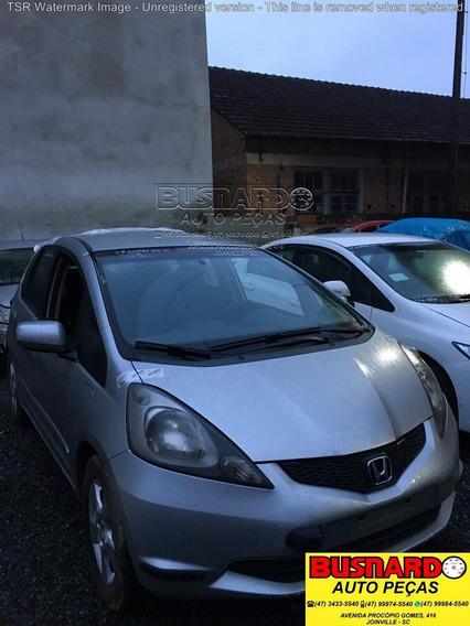 Sucata P/ Retirada Peças Honda New Fit Lx 1.4 Flex 16v 2011