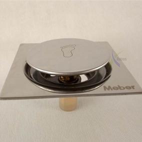 Ralo Click Meber 10x10 Inox 304 Ralo Inteligente