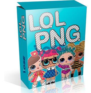 Kit Pack De Imágenes Png Lol Doll Muñecas 2019 ¡envío Ya!