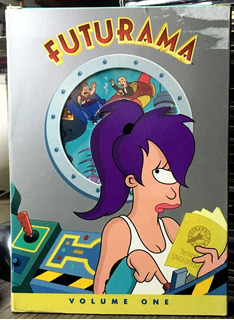 Futurama - Volumen 1 (2000) 3 Dvds